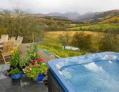 holiday cottage sleep 2 hot tub